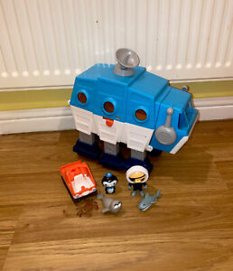 Octonauts Gup I Polar Transforming Vehicle Toys Figures Playset Bundle Seal Crab