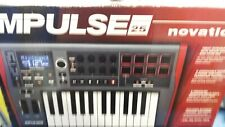 DJ Novation Impulse 25 Key USB MIDI Keyboard. Home studio. Recording studio.