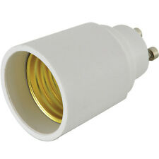 Light Bulb Adapter – GU10 Bayonet Male to E27 Edison Socket-Converter 60W LED
