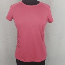 Columbia Sportswear Company Titanium Top - Size M Coral Workout Athletic Floral