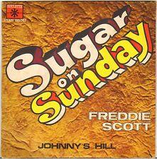 "FREDDIE SCOTT ""SUGAR ON SUNDAY"" MOD SOUL 60'S SP ROULETTE 195057"