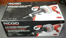 New Listingnew Ridgid 35473 K 45af Powered Corded Drain Cleaner With Autofeed Qik Ship