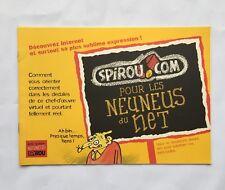 SPIROU Supplement journal BD 3415 - SPIROU.com pour les neuneu du net - FRANQUIN