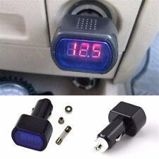 Digital LED Voltage Meter Car Battery Electric Tester Plug in Ci*arette Lighter