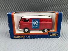 Tomica Dandy F23 VW T2 Splitscreen Panel Van Volkswagen Delivery 1/43 Scale
