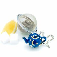 Stainless Steel Infuser Strainer Mesh Locking Tea Ball Filter Spoon Filter 5cm