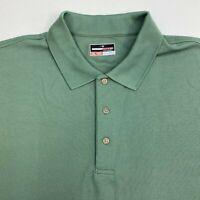 Grand Slam Performance Polo Shirt Mens 2XL XXL Short Sleeve Green 100% Polyester