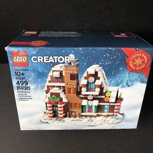 NEW LEGO Christmas (40337) Mini Gingerbread House