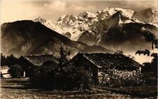 CPA Plaine-Joux Vue sur la chaine du Mont-Blanc (683866)