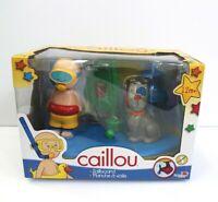 Caillou Sailboard Bath Time Fun Playset Toys Torn Plastic Cover