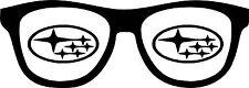 Subaru Glasses Vinyl Sticker Decal JDM WRX STI Impreza Outback Legacy Forester
