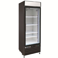 Maxx Cold Single 1 Glass Door 23cf Commercial Merchandiser Cooler Refrigerator