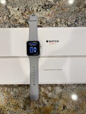 Apple Watch Series 3 38mm Silver Aluminum W/ Fog Band GPS & Cellular