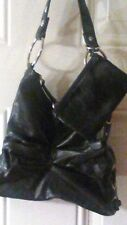 WOMEN'S FASHION HANDBAGS LITTLE BLACK BAG NEW NEVER USED LEATHER