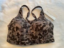 ATHLETA Advance Bra B-DD NWT - 36D Black Camo $69