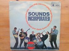 SOUNDS INCORPORATED LP / SELF TITLED ( FIRST PRESS VG / VG 1964 )
