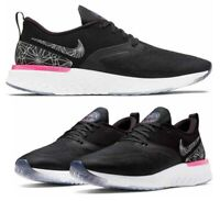 New NIKE Odyssey React 2 Flyknit Men's Running Shoes black all sizes