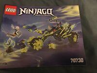 LEGO Instruction MANUAL ONLY No Bricks Ninjago 70730