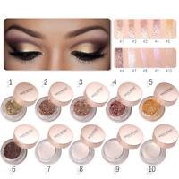 10 Colors Shimmer Glitter Eye Shadow Powder Matte Eyeshadow Cosmetic Makeup Lot