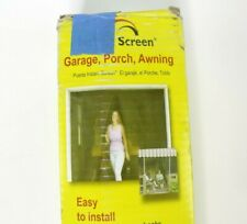 Snavely Internatl Garage Instant Screen Door Cover for Garages Porches Awnings