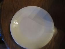 Homer Laughlin Fiesta 11.75-Inch Round Dinner Plate Platter, White NEW!