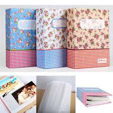"Photo Album Holds 100pcs 6"" Photos Picture Storage Case Baby Wedding Family Memo"