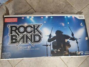 Nintendo Wii Rock Band Drums