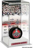 Washington Capitals 2018 Stanley Cup Champions Logo Deluxe Tall Hockey Puck Case