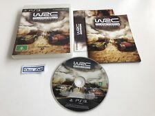 WRC FIA World Rally Championship - Sony PlayStation PS3 - PAL AUS - Avec Notice