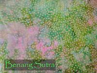 Batik Cotton Quilting Craft Fabric Sewing Fat Quarter Pink Green
