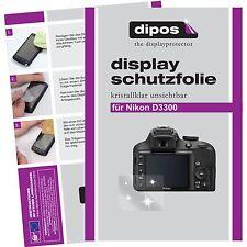 6x dipos Nikon D3300 Pellicola Prottetiva Transparente Proteggi Schermo