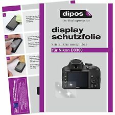 6x dipos Nikon D3300 Film de protection d'écran protecteur cristal clair