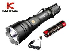 New Klarus XT12GT USB charge Cree XPH35 HI D4 1600 Lumens LED Flashlight w/18650