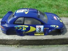 Subaru P1 Body Shell For 1:10 NITRO PETROL DRIFT RADIO CONTROLLED TOY CAR RC
