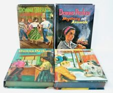 Lot of 4 WHITMAN GIRLS' BOOKS Donna Parker Hardback