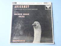 ANSERMET •  Ravel • Decca SXL 2062 • 1st Ed !
