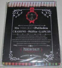 Coffret metal Set Assortiment x18 Crayons Couleur Dessin Pencil Set Top Quality