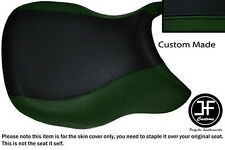 D GREEN BLACK VINYL CUSTOM FITS BMW R 1100 RT 94-01 & R 1150 RT 00-06 SEAT COVER