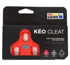 Look Keo Tacchette Bicicletta Corsa Colore Rosso
