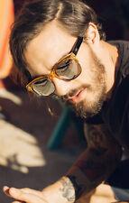 NEW QUAY Bronx Coffee/Silver Sunglasses
