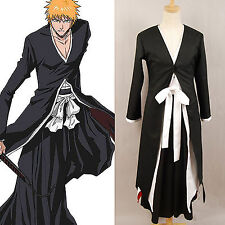 Bleach Ichigo Kurosaki Bankai Anime Cosplay Costume