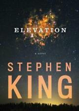 Elevation by Stephen King Hardcover Mystery Thriller 1982102314