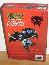 Transformers TransCon 1997 Beast Wars Basic Class Onyx Primal MIB botcon 1996