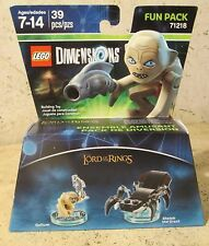 Lord Of The Rings Gollum Lego Fun Pack Gollum and Shelob the Great