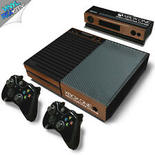 ATARI STYLE XBOX ONE Wrap Skin Sticker Dust Cover VINTAGE RETRO GAMING WOOD