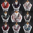 Women Lady Long Soft Cotton Voile Print Scarves Shawl Wrap Scarf Stole Pashmina