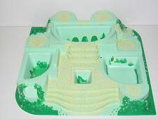 Lego ® Plaque de base lego 38x38 cm 3D Relief Château Belville