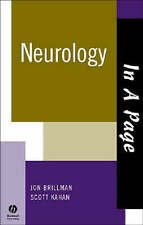 NEW In A Page Neurology (In a Page Series) by Jon Brillman
