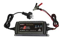 Battery Charger 12v 2.5 Amp Automotive & Marine Smart Multi Stage Pulse Charge