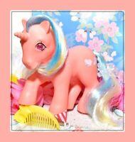 ❤️My Little Pony MLP G1 Vtg 1985 Twinkle Eyed Unicorn SPEEDY & Original Comb❤️